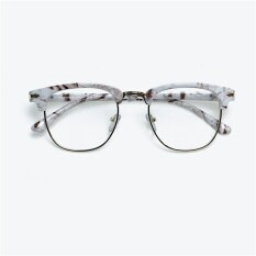 ส่วนลด สินค้า กรอบแว่นตาเกาหลีผู้ชายครึ่งกรอบ
