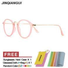 โปรโมชั่น แว่นตากันแดดแว่นตารูปวงสนามแม่เหล็กดวงผู้หญิงสีชมพูยี่ห้อการออกแบบ Mbulon