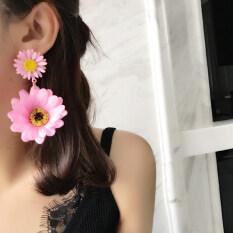 ขาย บุคลิกภาพเดซี่ดอกไม้โอ้อวดต่างหูจี้ ถูก
