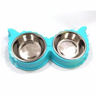 ชามหลุมสำหรับใส่อาหาร สุนัขหรือแมว