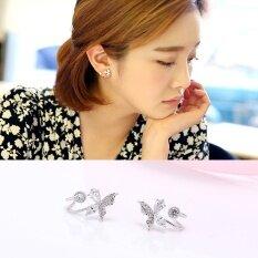 ซื้อ เอลฟ์กรมเสนหญิงชาวเกาหลีใต้สไตล์นุ่มต่างหูคลิปหู ใหม่