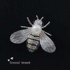 ซื้อ ผึ้งป่าเพศหญิงหรูเข็มกลัดเข็มหัวเข็มขัดคอขาเข็มกลัด Other ออนไลน์