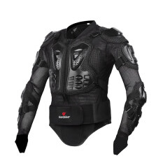 ขาย ซื้อ ออนไลน์ การป้องกันร่างกายอาชีพแข่งรถจักรยานยนต์ Motorcross เกราะป้องกันร่างกายเต็มหน้าอกเสื้อแจ็กเก็ตสันหลัง M Xxxl