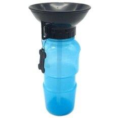 ส่วนลด Promotion Portable Dog Mug Puppy Dog Outdoor Water Drinking Bowl Bottles Blue Intl Unbranded Generic ใน จีน