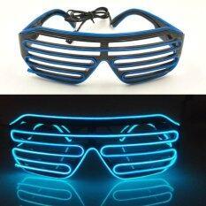 ราคา Pym แว่นตากิ๊บเก๋พร้อมไฟ Led ปรับได้ 3 ระดับ สีน้ำเงิน จำนวน 1 ชิ้น Pym