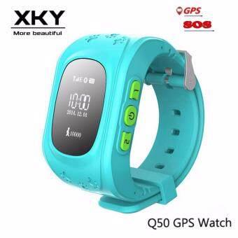 Q50 GPS ติดตามเด็กสมาร์ทนาฬิกาสำหรับเด็กซิมหน้าจอ OLED สัญญาณขอความช่วยเหลือฉุกเฉิน Passomete สมาร์ทนาฬิกาป้องกัน-สูญหายห่างไกล (สีดำ/สีขาว/สีน้ำเงิน /สีชมพู่ 30/สีเขียว/สีน้ำเงินเข้ม)