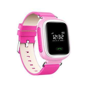 Q60 Smart Watch Watches Tracker SOS Call Children for Android iOS iPhone Pink - intl