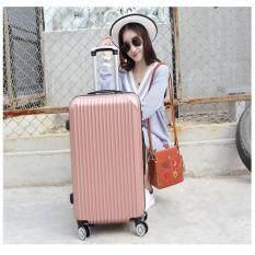 Qiaofei กระเป๋าเดินทางล้อลาก 24 นิ้ว No502 วัสดุ Abs Pc Luggage ใหม่ล่าสุด