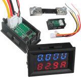 ทบทวน ที่สุด Qiaosha 100V 100A Dc Car Auto Digital Voltmeter Ammeter Led Amp Volt Meter