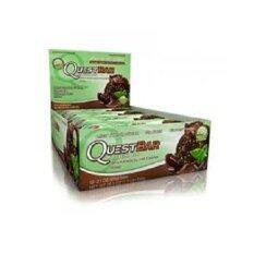 Quest Bar  Mint Chocolate Chunk 12 Bar.