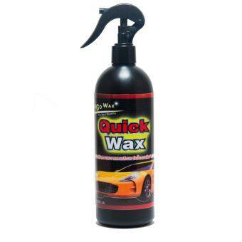น้ำยาเคลือบสีรถ Quickwax ผลิตภัณท์ทำความสะอาดและเคลือบเงาในขั้นตอนเดียว สามารถใช้กับกระจกและวัสดุอื่นๆที่ต้องการความสะอาดและเงางาม