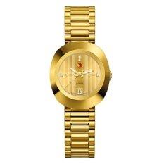 Rado Original Diastar Jubile Automatic Woman S Watch รุ่น R12416773 4Diamond Gold เป็นต้นฉบับ