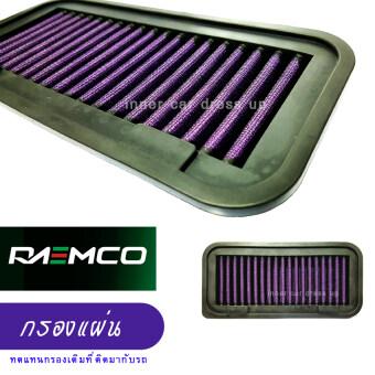 RAEMCO กรองอากาศรถยนต์ แบบซักล้างได้ ดีกว่ากรองเดิม สะอาดกว่า แรงกว่า ประหยัดกว่า สำหรับ Honda CIVIC FB 2012-2016
