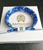 โปรโมชั่น Rastaclat Valiant White And Blue Classic สร้อยข้อมือสิงโต ราสตาแคลท สร้อยข้อมือเชือกรองเท้า Rastaclat