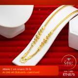 ราคา Rattana Jewelry รัตนะ จิวเวลรี่ สร้อยคอ สี่เสาคั่นโอ่งและเม็ดพริกไทย 2 บาท งานทองไมครอน ชุบเศษทองคำแท้ 96 5 ยาว 20 นิ้ว ถูก