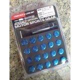 ราคา น๊อตล้อ Rays 17 Hex Nut Lock Set สีฟ้า เป็นต้นฉบับ