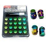 ขาย น๊อตล้อ Rays 17 Hex Nut Lock Set สีรุ้ง ราคาถูกที่สุด