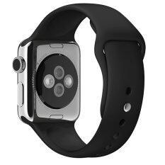 ราคา Ready Stock 1 1 Silicone Band With Connector Adapter For Apple Watch Sport 38Mm Strap For Iwatch Sports Buckle Bracelet Band Black Unbranded Generic
