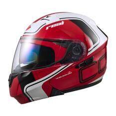 ขาย ซื้อ ออนไลน์ หมวกกันน็อค Real Cormo R No 1 สีขาว แดง