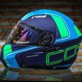 Real Helmet หมวกกันน็อค Real Cosmo R สี ฟ้า Blue Big Bike And Motorcycle Helmet กรุงเทพมหานคร