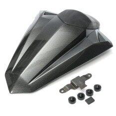 โปรโมชั่น Rear Pillion Seat Cowl Fairing Cover For Kawasaki Ninja 300R Ex300R 2013 2014 Carbon Fibre Intl จีน