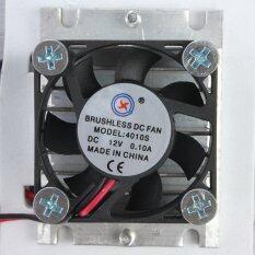 ส่วนลด Refrigeration Thermoelectric Peltier Double Fan Cooling System Kit Cooler Intl Thailand