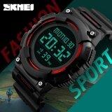 ขาย กีฬาผู้ชาย นาฬิกาหรูกันน้ำแบรนด์แฟชั่นนาฬิกามัลติฟังก์ชั่นปลุกนาฬิกาข้อมือดิจิตอล Relogio Masculino 1248 Skmei เป็นต้นฉบับ