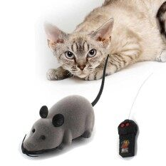 รีโมทคอนโทรลแมวเมาส์ของเล่นหนูตลกน่ารักไร้สายควบคุม - นานาชาติ By Zoahu.