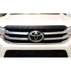 ซื้อ คิ้วฝากระโปรงหน้าดำด้าน Revolution Front Trim สำหรับรถโตโยต้ารีโว้ Toyota Revo คมเข้มสวยงาม ออนไลน์ กรุงเทพมหานคร