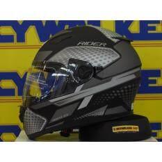 ขาย หมวกกันน็อค Rider รุ่น Viper Electron Matte Black Rider ออนไลน์