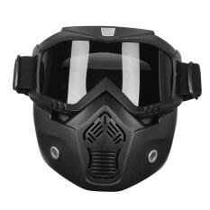 ราคา หน้ากากป้องกันรังสียูวีแบบถอดออกได้สำหรับรถจักรยานยนต์หมวกนิรภัยสีดำ นานาชาติ Unbranded Generic แองโกลา