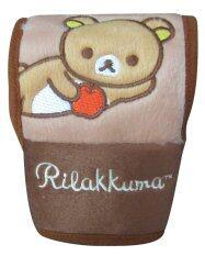ราคา Rilakkuma ที่หุ้มเกียร์รถยนต์ ลิขสิทธิ์แท้ พื้นหลังสีน้ำตาล เป็นต้นฉบับ