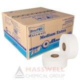 ขาย ซื้อ Riverpro กระดาษชำระม้วนใหญ่ Jrt รุ่น Medium 2 Ply 300เมตร 12ม้วน ขายยกลัง กรุงเทพมหานคร