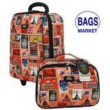 ซื้อ Romar Polo กระเป๋าเดินทาง 16 12 นิ้ว เซ็ทคู่ Code 560 7 Stamp Red สมุทรปราการ