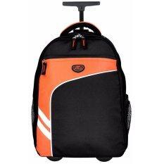 ซื้อ Romar Polo กระเป๋า กระเป๋าเป้ล้อลาก 18 นิ้ว รุ่น Polo R123418 Black Orange ถูก ไทย