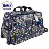 ราคา Romar Polo กระเป๋าเดินทางแบบถือพร้อมล้อลากขนาด 20 นิ้ว Code R1156 5 Little Rabbit Blue เป็นต้นฉบับ
