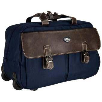 Romar Polo กระเป๋าเดินทางแบบถือพร้อมล้อลาก 20 นิ้ว รุ่น POLO 01520 (Blue)