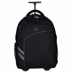 ซื้อ Romar Polo กระเป๋า กระเป๋าเป้ล้อลาก Code R123418 Black Black ออนไลน์