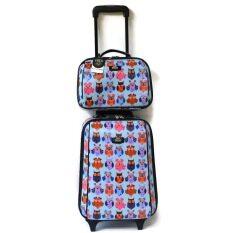 ซื้อ Romar Polo กระเป๋าเดินทาง 16 12 นิ้ว เซ็ทคู่ Code 369 25 Bird Sky Blue Romar Polo