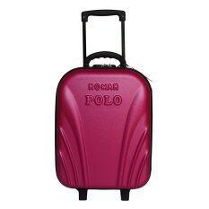 โปรโมชั่น Romar Polo กระเป๋าเดินทาง 16 นิ้ว รุ่น Polo 22616 Pink