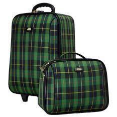 ทบทวน ที่สุด Romar Polo กระเป๋าเดินทาง 20 14 นิ้ว เซ็ทคู่ 373 9 Scott Green