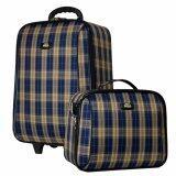 ซื้อ Romar Polo กระเป๋าเดินทาง 20 14 นิ้ว เซ็ทคู่ Code 373 8 Scott Blue Cream ใน สมุทรปราการ