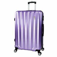 ขาย Romar Polo กระเป๋าเดินทาง 28 นิ้ว 8 ล้อคู่ 360° Polycarbonate Tsa Lock Luxury Code R11028 5 Purple ถูก