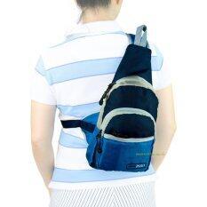 ซื้อ Romar Polo กระเป๋าเป้ พาดลำตัว คาดอก สะพายเฉียง สไตล์ญี่ปุ่น รุ่น Spry R72454 Blue ใหม่ล่าสุด