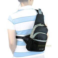 ขาย ซื้อ Romar Polo กระเป๋าเป้ พาดลำตัว คาดอก สะพายเฉียง สไตล์ญี่ปุ่น รุ่น Spry R72454 Grey Black ใน สมุทรปราการ