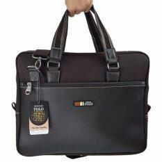 ราคา Romar Polo กระเป๋าใส่โน๊ตบุ๊ค Laptop กระเป๋าสะพายไหล่ กระเป๋าใส่เอกสาร กระเป๋าถือ ขนาด 16 นิ้ว Code Rmnb4294 1 Brown ราคาถูกที่สุด