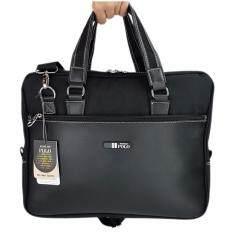 ทบทวน ที่สุด Romar Polo กระเป๋าใส่โน๊ตบุ๊ค Laptop กระเป๋าสะพายไหล่ กระเป๋าใส่เอกสาร กระเป๋าถือ ขนาด 16 นิ้ว Code Rmnb4294 2 Black