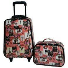 ขาย ซื้อ Romar Polo กระเป๋าแฟชั่น กระเป๋าใส่เสื้อผ้า กระเป๋าเดินทาง กระเป๋ามีล้อ ขนาด 18 นิ้ว Vx236 ไทย