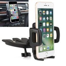 ราคา Rotatable Car Cd Slot Mount Bracket Holder For Iphone Cell Phone Gps Modish Intl จีน