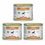 ราคา Royal Canin Gastro Intestinal สำหรับสุนัข Low Fatกระป๋อง200G สำหรับสุนัข 3 กระป๋อง เป็นต้นฉบับ Royal Canin